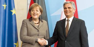 Merkel & Faymann