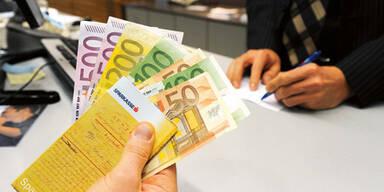 Geld Sparbuch Bank