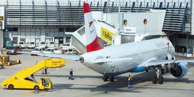 Flughafen Wien/Schwechat / AUA