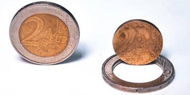 Falschgeld 2 Euro Münze