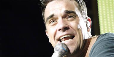 Robbie rockt mit 15 Kilo weniger