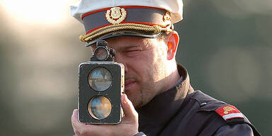 Polizei Radar Kontrolle
