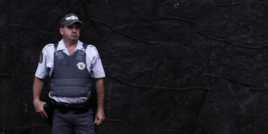 Brasilien Polizist Polizei