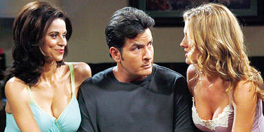 """""""Two and a half men"""" Charlie Sheen"""