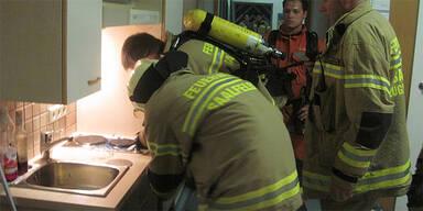 Küchenbrand in Altersheim Saalfelden