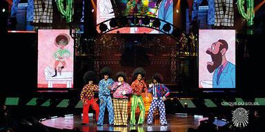 "Triumph des ""Cirque"" mit Jackson-Show"
