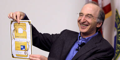 Nobelpreis-Gewinner Saul PERLMUTTER