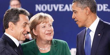 Sarkozy, Merkel, Obama / G-20 Gipfel