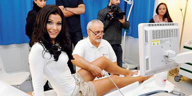 Stamboli: Miss Austria beim Venen-Doc