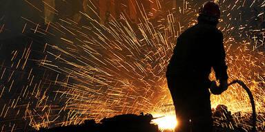 Metaller Industrie Hochofen