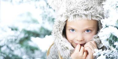 Kind Winter Schnee Weihnachten Wetter
