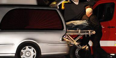 Leichenwagen / Sarg / Transport