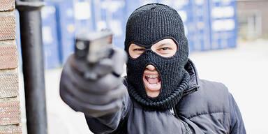 Einbrecher Überfall