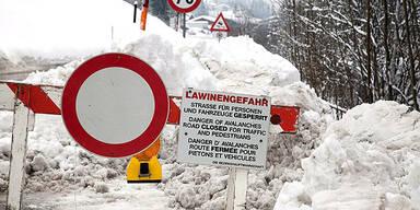 Zwei Tote nach Lawinenabgängen in Salzburg