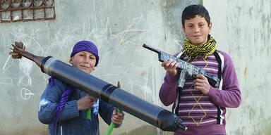Gräueltaten in Homs: 28 Kinder massakriert