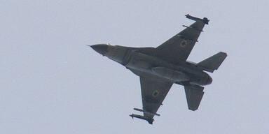 Israel F-16 Kampfjet