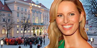 Karolina Kurkova: Familien-Trip in Wien