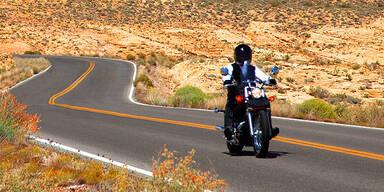 Motorrad Biker Nevada
