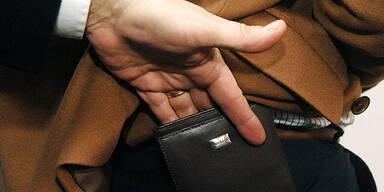 Taschendieb Langfinger