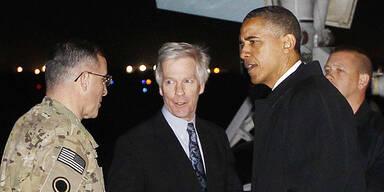 Obama: Geheim-Besuch in Afghanistan