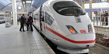 Die Deutsche Bahn streikt