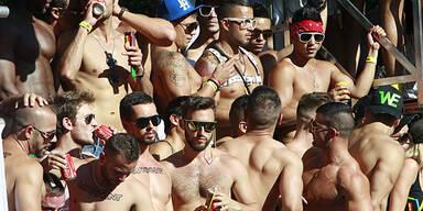 Hunderttausende bei Homosexuellen-Demos