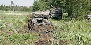 Panzer-Unfall: 21-jähriger Soldat tot