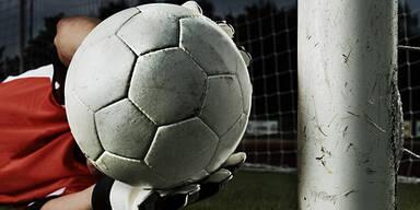 Fußball Torwart Symbolfoto