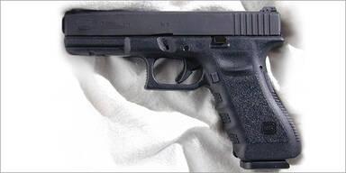 Pistole / Glock 22 / Dienstwaffe der US-Polizei