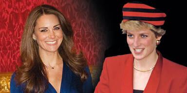 Kate Middleton & Lady Di