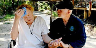 Helmut Berger verlässt das Dschungelcamp