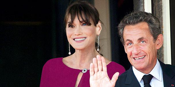 Carla Bruni und Gatte Nicholas Sarkozy