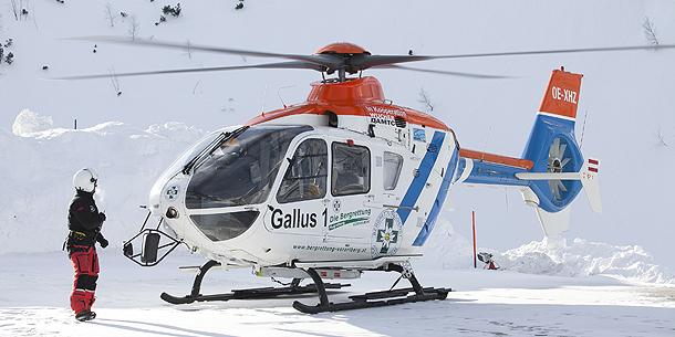 Gallus 1 Hubschrauber Helikopter / Lech Arlberg / Friso