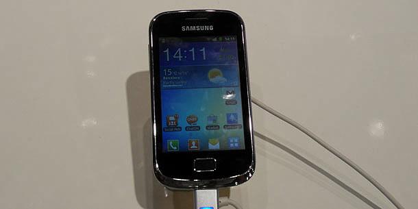 MWC Samsung Galaxy Mini 2
