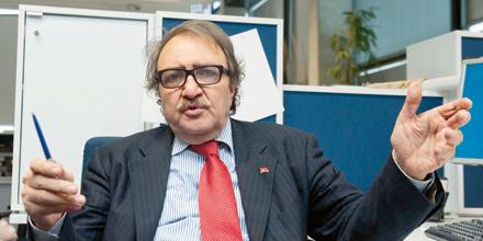 Türkischer Journalist Ali Haydar Yurtsever