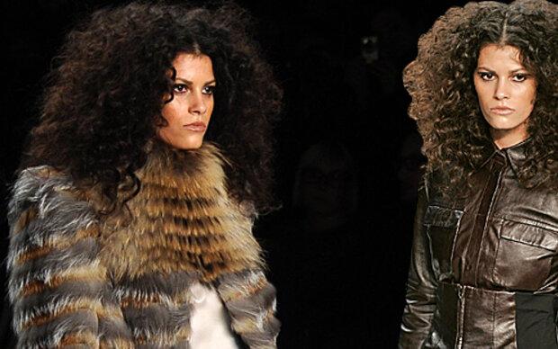 Austro-Topmodel Alisar mit Afro-Look