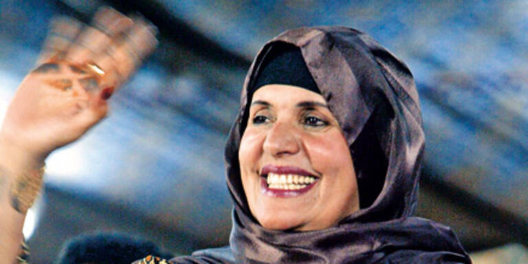 Gaddafis Ehefrau geheim in Wien