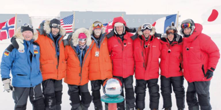 Herminator: Triumph und Tränen am Südpol