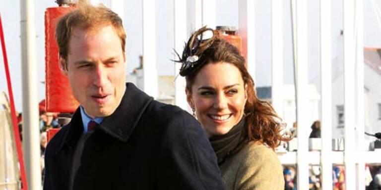 Will & Kate: Nur noch einen Monat