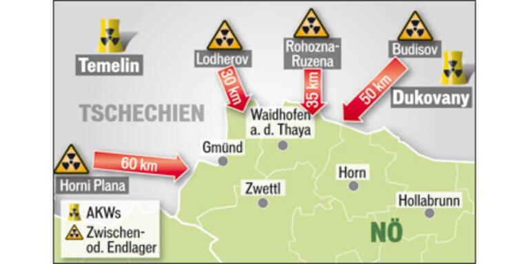 Atom-Endlager an Österreichs Grenze