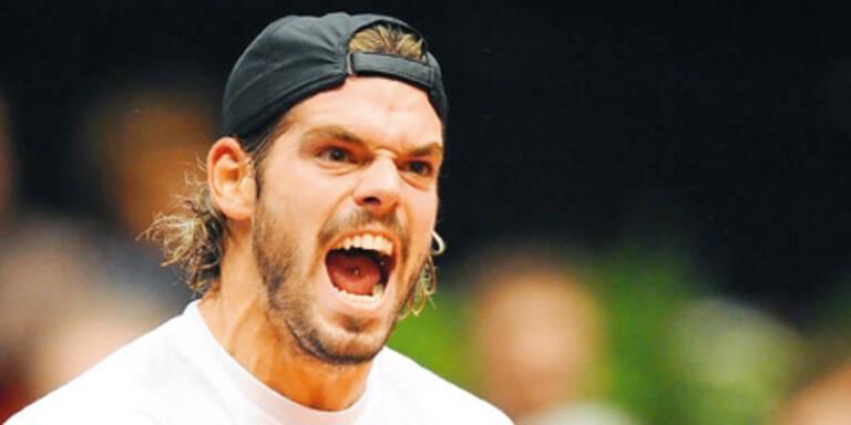 Köllerer: Tennis-Rüpel gesperrt