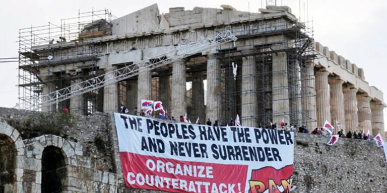 Griechische Steuerfahnder streiken