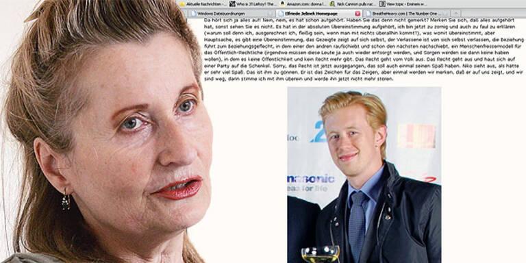 "Elfriede Jelinek: ""Der kleine Niko"""