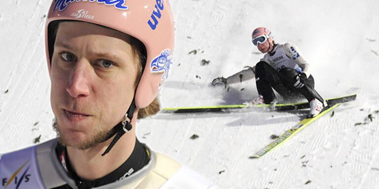 Skifliegen: Koch holt trotz Sturz WM-Bronze