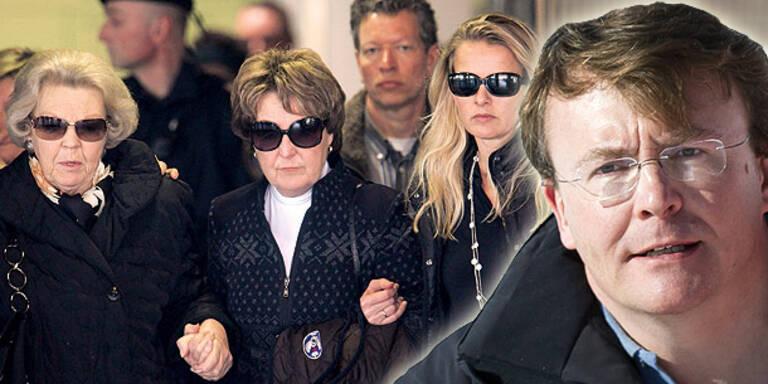 Prinz Friso: Royals tragen Trauer