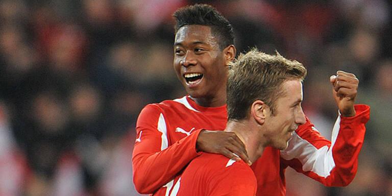 Österreich schlägt Finnland glatt 3:1