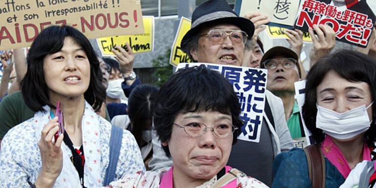 Zehntausende demonstrierten gegen Atomkraft