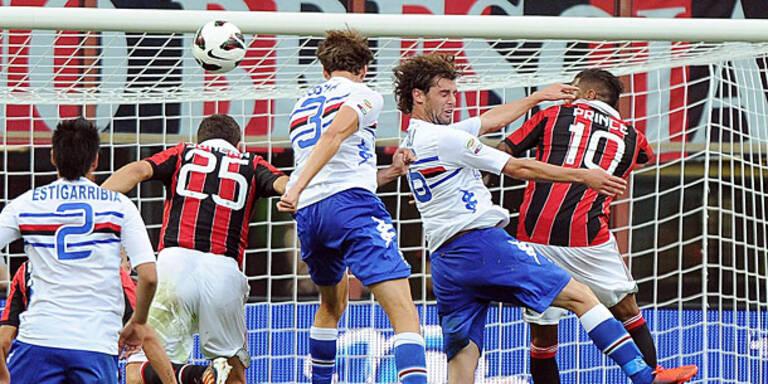 AC Milan stolperte zum Auftakt