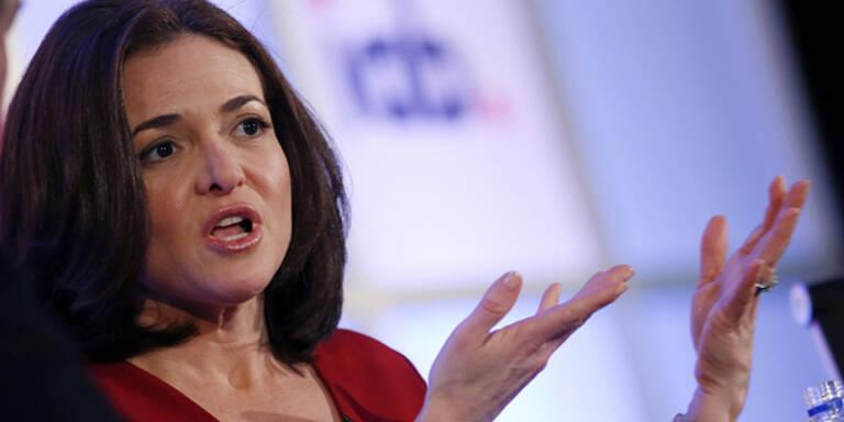 Sandberg: Milliardärin dank Facebook-Aktien