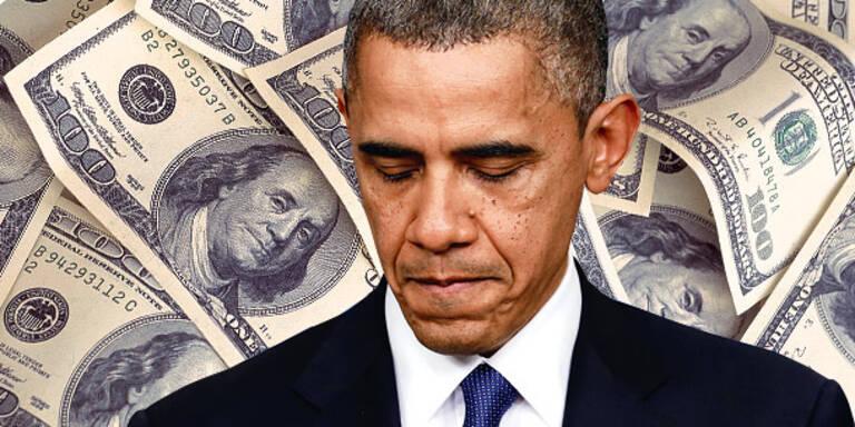 USA rasen mit Vollgas in die Pleite